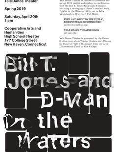Bill T Jones D Man in the Waters