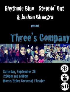 Poster of Three's Company: Parents Weekend 2015 Show