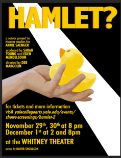Hamlet? Adapted by Annie Saenger