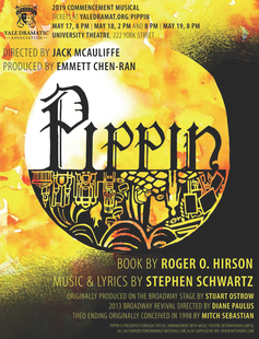 Pippin show poster