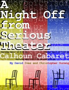 Poster of A Night Off from Serious Theater