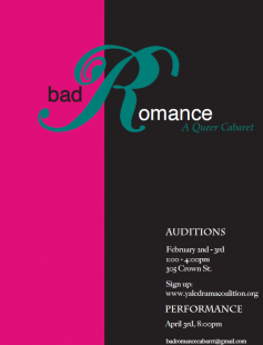 Poster of Bad Romance: A Queer Cabaret
