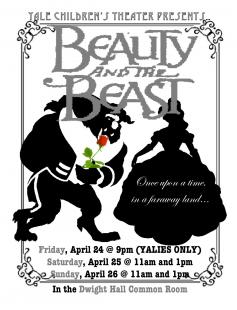 Poster of YCT's Beauty and the Beast