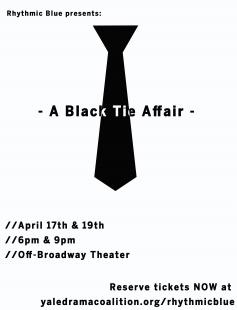 Poster of Rhythmic Blue presents: A Black Tie Affair