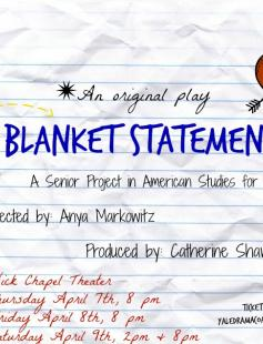 Poster of Blanket Statement
