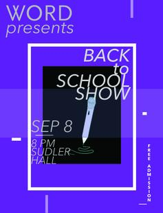 WORD Back to School Show!