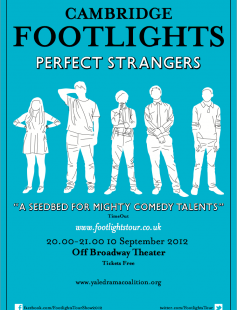 Poster of The Cambridge Footlights: Perfect Strangers