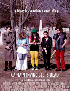 Poster of Captain Invincible is Dead