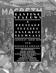 Poster of Casting Shadows: A Heritage Theater Ensemble Showcase