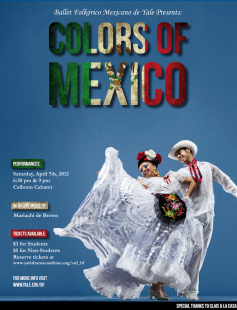 Poster of Colors of Mexico