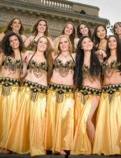 Poster of Hips Against Hunger: Belly Dance Show