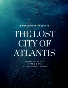 Danceworks Presents Atlantis: The Lost City of Dance