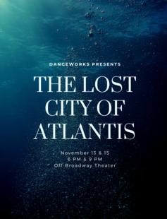 Danceworks Presents Atlantis: The Lost City of Dance