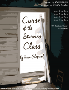 Poster of Curse of the Starving Class