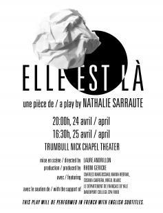 Poster of Elle est là