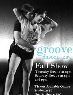 Poster of Groove Dance Company Fall Show