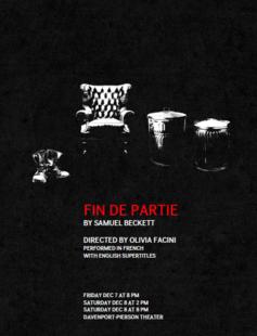 poster for fin de partie