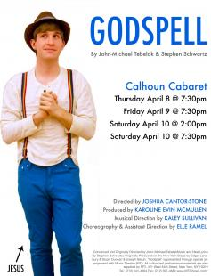 Poster of Godspell