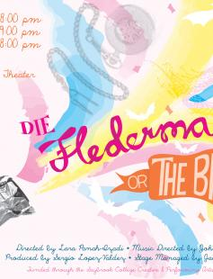 "Poster of Die Fledermaus ""The Bat"" (In English)"