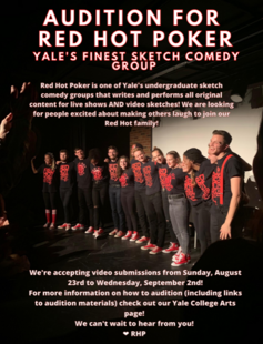 Audition for Red Hot Poker and See Our Recruitment Show!