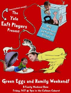 Poster of Green Eggs and Hamily Weekend