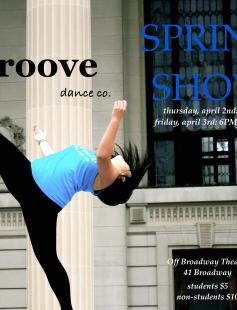 Poster of Groove Dance Company Spring Show