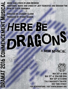 Poster of Here Be Dragons