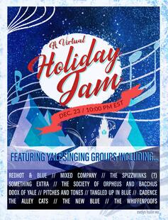 A Virtual Holiday Jam, featuring 12 fantastic Yale singing groups!