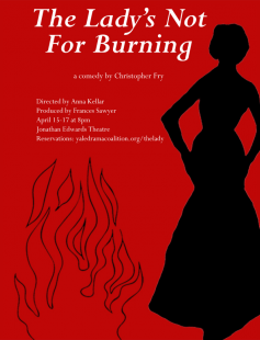Poster of The Lady's Not For Burning