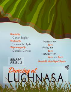 Poster of Dancing at Lughnasa