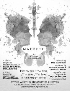 Poster of The company and the text: Macbeth
