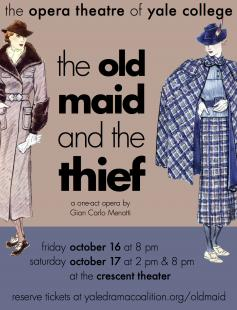 Poster of The Old Maid and the Thief