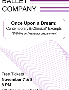 Poster of Once Upon a Dream: Contemporary and Classical Excerpts