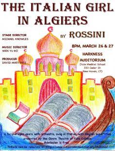 Poster of L'Italiana in Algeri