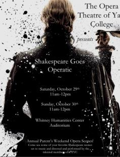 Poster of Shakespeare Goes Operatic