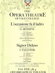 Poster of Signor Deluso and L'occasione fa il ladro: A double-bill
