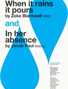 Poster of When It Rains It Pours and In Her Absence