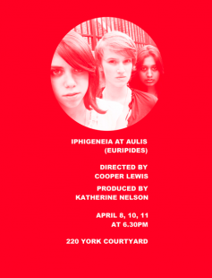 Poster of Iphigenia at Aulis