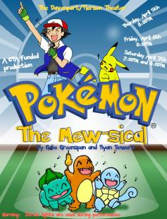 Poster of Pokémon: The Mew-sical