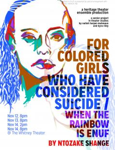 Poster of for colored girls who have considered suicide when the rainbow is enuf