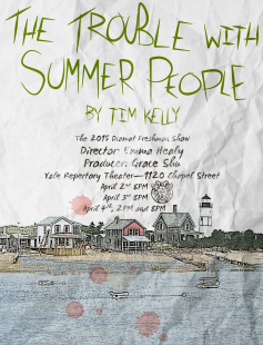 Poster of The Trouble with Summer People