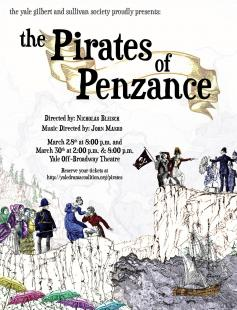 Poster of The Pirates of Penzance