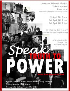 Poster of Speak Truth to Power: Voices from Beyond the Dark