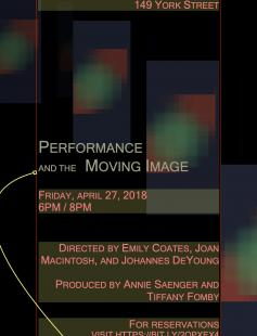 Performance & the Moving Image
