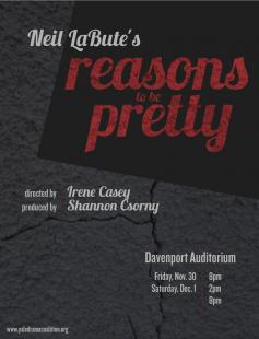 Poster of reasons to be pretty