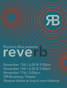 Poster of Rhythmic Blue Presents: Reverb
