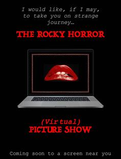 Rocky Horror virtual poster