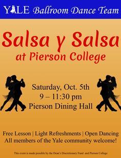 YBDT Salsa y Salsa Poster