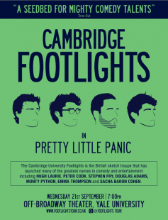 Poster of Cambridge Footlights International Tour Show 2011: Pretty Little Panic