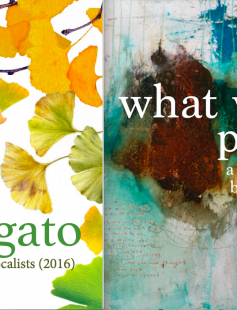 "Poster of Obbligato & ""What we pray for"""